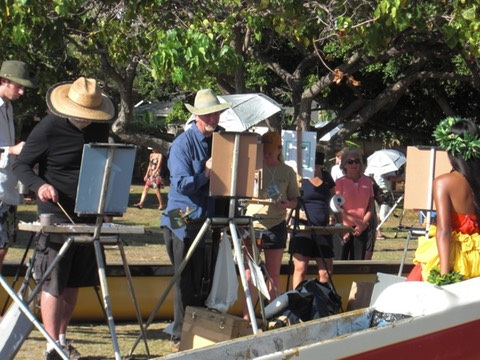 Maui Plein Air paint out 2016
