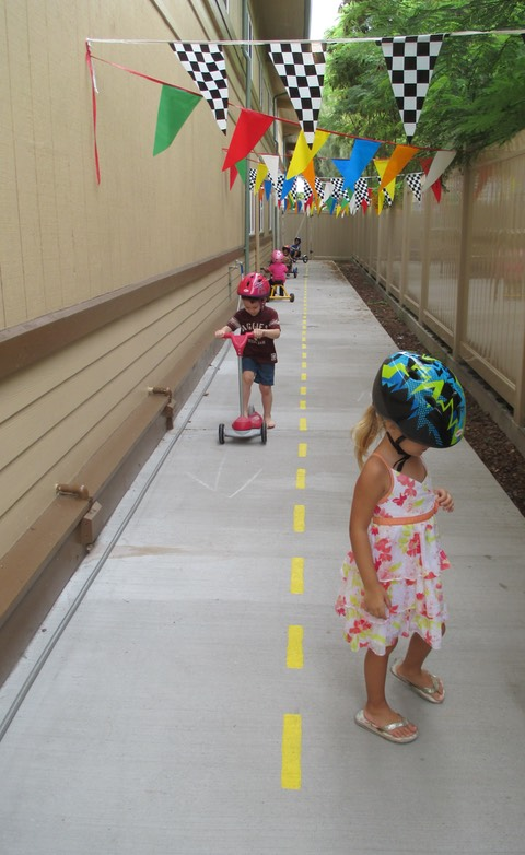 Imua Inclusion Preschool run area funded by a Makana Aloha grant