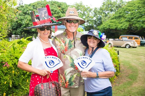 Makana Aloha board members at Maui Academy of Performing Arts Garden party 2016cajpg