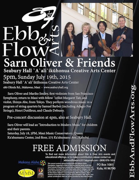 Sarn Oliver and Friends 2015